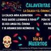 "Literary ""Calaveras"": Honoring the Mexican tradition for Day of the Dead"