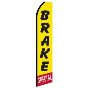 12' Digitally Printed Brake Special Swooper Banner